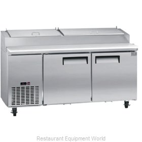 Kelvinator KCPT72.9 Pizza Prep Table Refrigerated