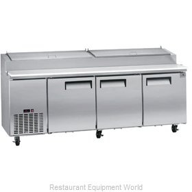 Kelvinator KCPT92.12-HC Refrigerated Counter, Pizza Prep Table