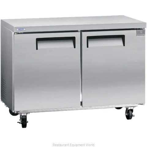 Kelvinator KCUC48F Reach-In Undercounter Freezer 2 section