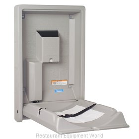 Koala KB101-01 Vertical Grey Changing Table