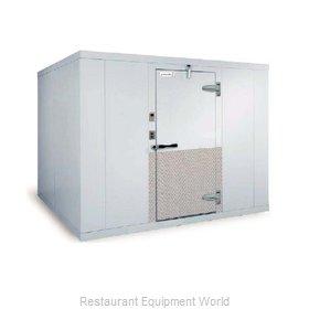 Kolpak KF7-1018-C10-F8 Walk In Combination Cooler Freezer, Remote