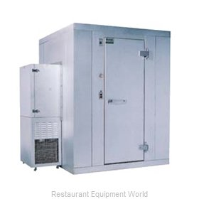 Kolpak P6-0504-FS-OA Walk In Freezer, Modular, Self-Contained