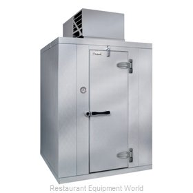Kolpak QS7-0810-FT Walk In Freezer, Modular, Self-Contained