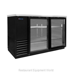 Kool Star KSBB59-G Backbar Cabinet Refrigerated