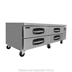 Kool Star KSCB72 Refrigerated Counter Griddle Stand