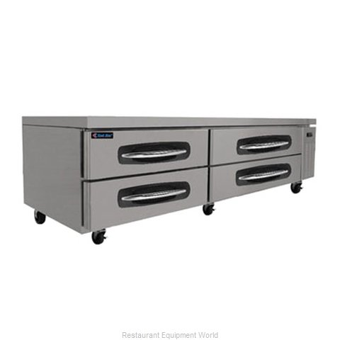 Kool Star KSCB84 Refrigerated Counter Griddle Stand