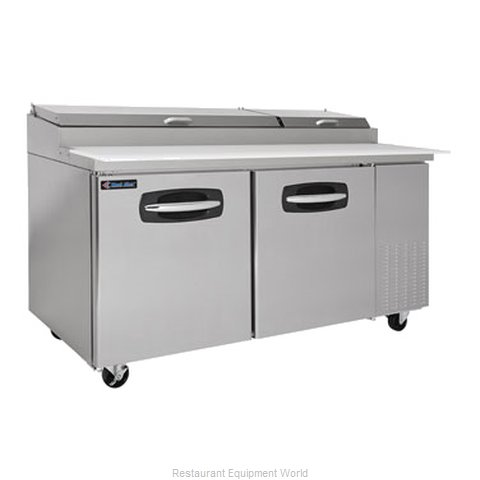 Kool Star KSPT67 Pizza Prep Table Refrigerated (Magnified)