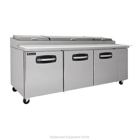 Kool Star KSPT93 Pizza Prep Table Refrigerated