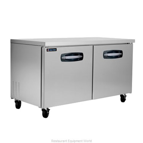 Kool Star KSUF60 Reach-In Undercounter Freezer 2 section (Magnified)