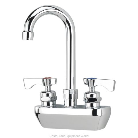 Krowne 14-401L Wall-Mount Sink Faucet (Magnified)