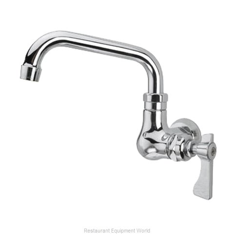 Krowne 16-171L Single Wall-Mount Faucet (Magnified)