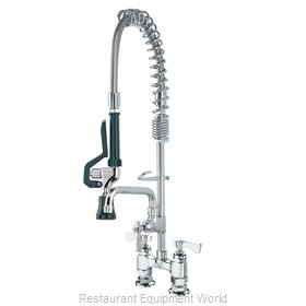 Krowne 18-406L Pre-Rinse Faucet Assembly, with Add On Faucet