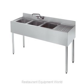 Krowne 18-43L Bar Sink