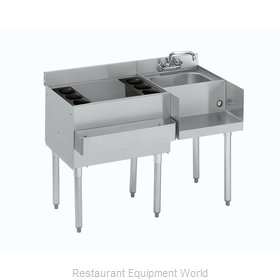 Krowne 18-W42L-7 Underbar Ice Bin/Cocktail Station, Blender Station