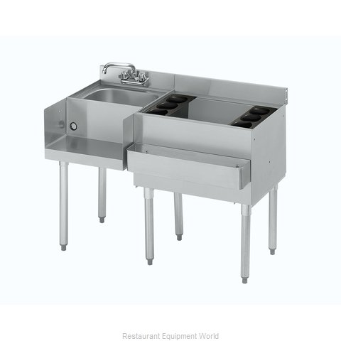 Krowne 18-W54R-7 Underbar Ice Bin/Cocktail Station, Blender Station