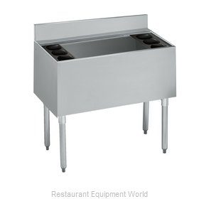 Krowne 21-36DP-7 Underbar Ice Bin/Cocktail Unit