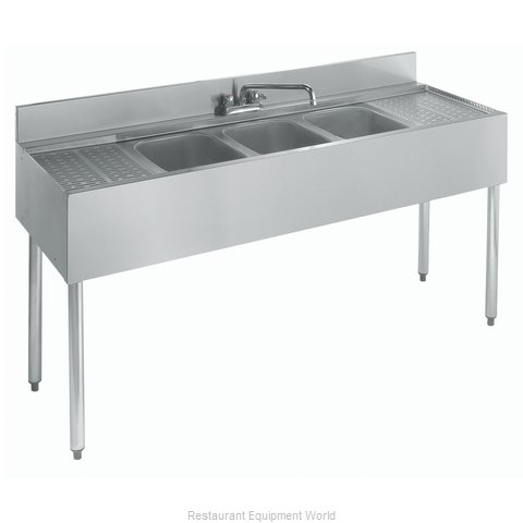 Krowne 21-53C Underbar Sink Units (Magnified)