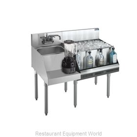 Krowne 21-W48R-7 Underbar Ice Bin/Cocktail Station, Blender Station