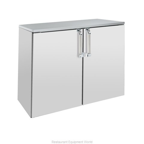 Krowne BD48 Backbar Cabinet Non-Refrigerated Stationary