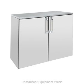 Krowne BD48 Back Bar Cabinet, Non-Refrigerated