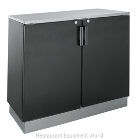 Krowne BD72 Back Bar Cabinet, Non-Refrigerated