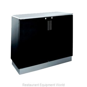 Krowne BR48R Back Bar Cabinet, Refrigerated