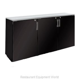 Krowne BR72L Backbar Cabinet Refrigerated