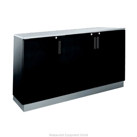 Krowne BR72R Back Bar Cabinet, Refrigerated (Magnified)