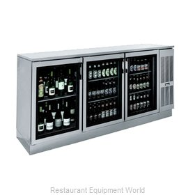 Krowne BS84R Back Bar Coolers