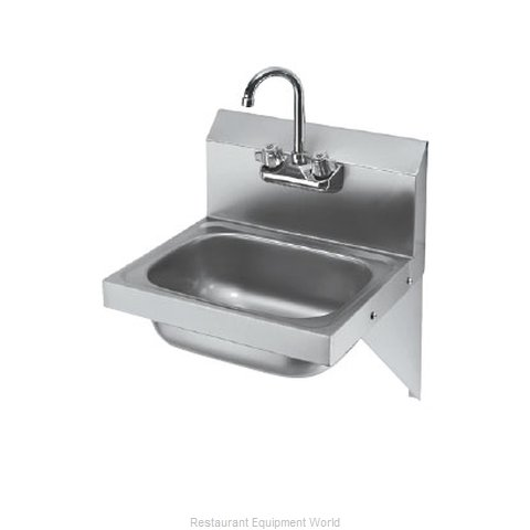 Krowne HS-10 Sink, Hand (Magnified)