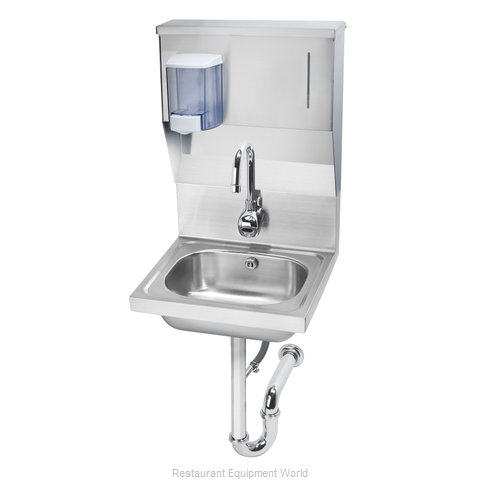 Krowne HS-13 Sink, Hand (Magnified)
