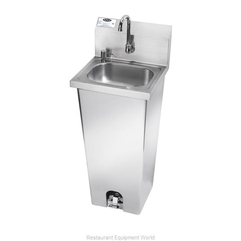 Krowne HS-14 Sink, Hand (Magnified)