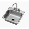 Krowne HS-1515 Sink, Drop-In