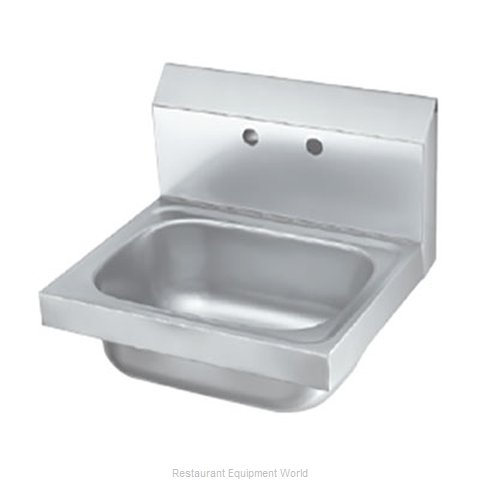 Krowne HS-2-LF Sink, Hand (Magnified)