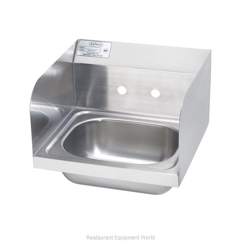 Krowne HS-26-LF Sink, Hand (Magnified)