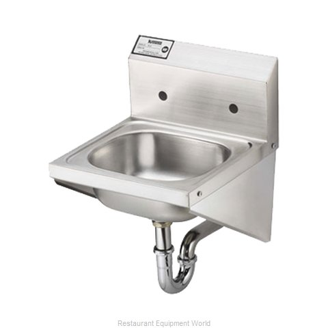 Krowne HS-27 Sink, Hand (Magnified)