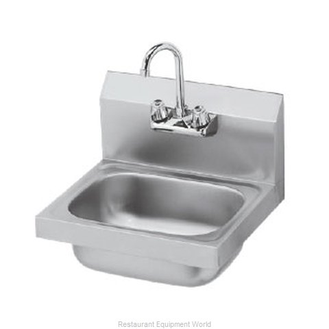 Krowne HS-2L Sink, Hand (Magnified)