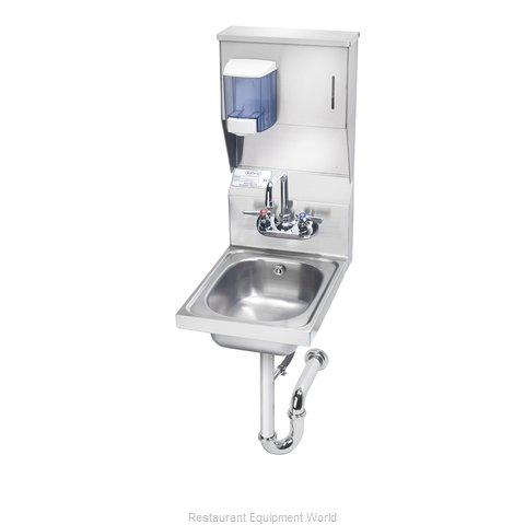 Krowne HS-31 Sink, Hand (Magnified)