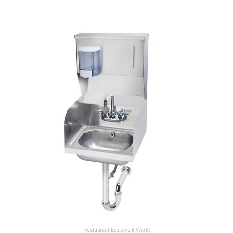 Krowne HS-33 Sink, Hand (Magnified)