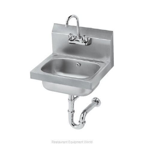 Krowne HS-4 Sink, Hand (Magnified)