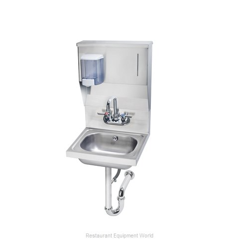 Krowne HS-7 Sink, Hand (Magnified)