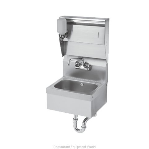 Krowne HS-8 Sink, Hand (Magnified)