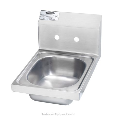 Krowne HS-9-LF Sink, Hand (Magnified)