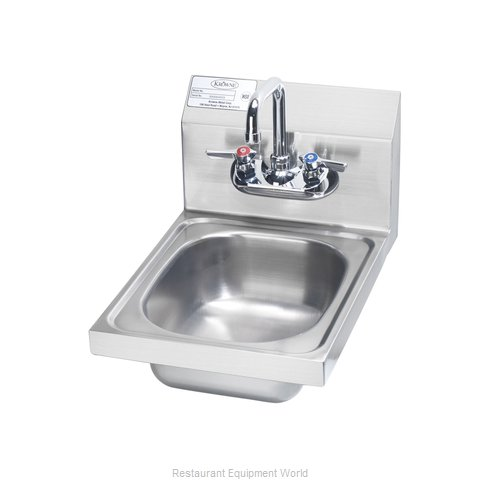 Krowne HS-9L Sink, Hand (Magnified)