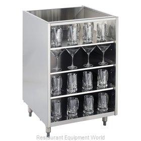 Krowne KR-G18 Underbar Glass Rack Storage Unit