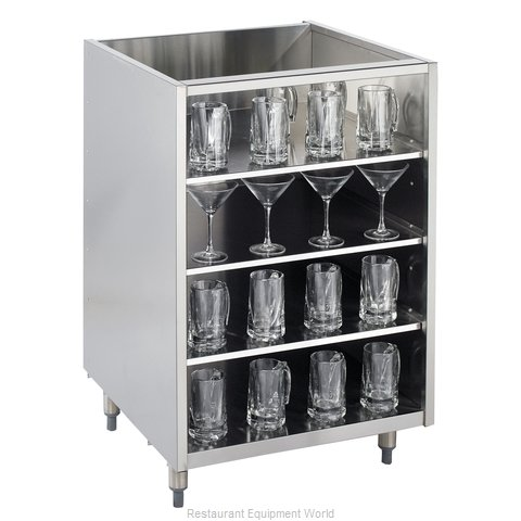 Krowne KR-G24 Backbar Cabinet Non-Refrigerated Stationary