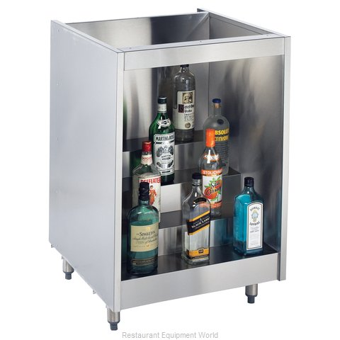 Krowne KR-L24 Backbar Cabinet Non-Refrigerated Stationary