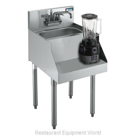 Krowne KR18-12BD Royal Blender Station Dump Sink
