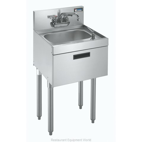 Krowne KR18-12DST 1800 Series Royal Hand Sinks with Soap and Towel