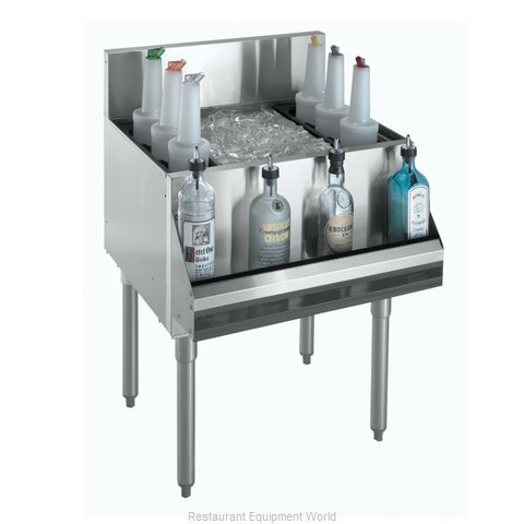 Krowne KR18-18-7 Underbar Ice Bin/Cocktail Unit